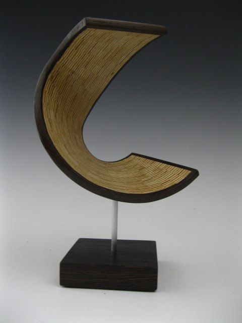 Modern Abstract wood art sculpture by SteveFrank71 on Etsy