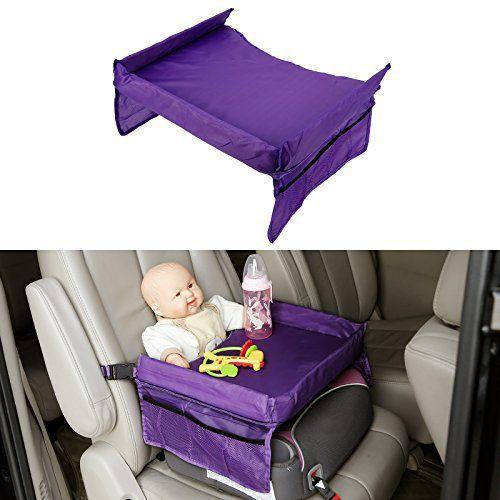 Etanche Siege Auto pour bebe etanche Securite Assise Ceinture Snack & Play Plateau Table de jeux Voyage: lorsque vous apportez votre bebe…