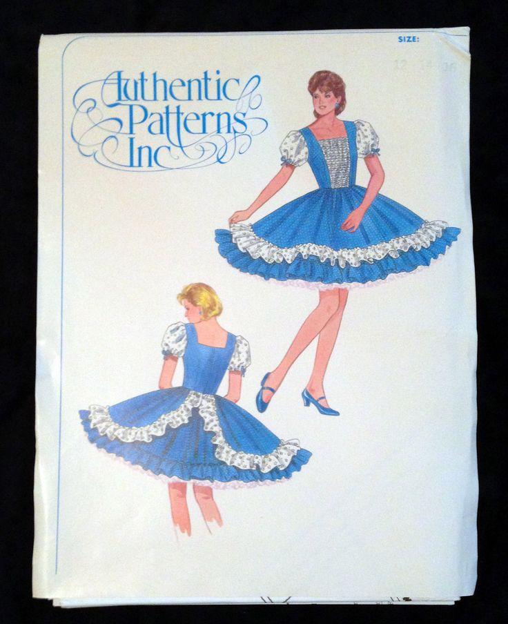 Patterns Womens Square Dance Dress