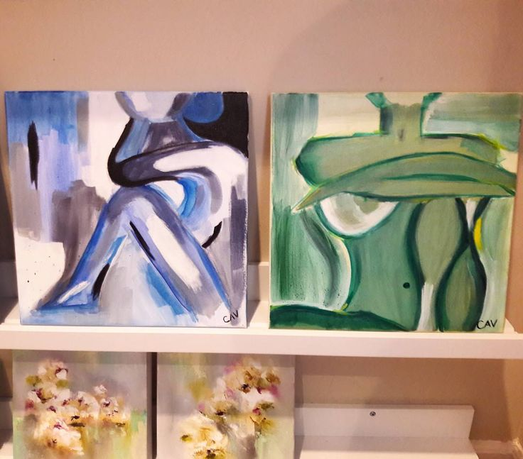 New small works from  Karla Cavaleri Need a different size or palette? We can do that too