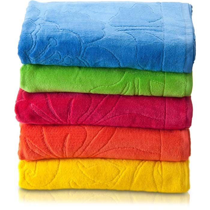 Amaciar as toalhas