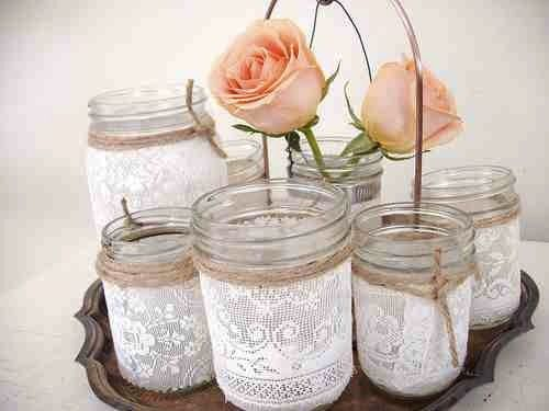 Creative DIY Projects with Vintage Lace - Jane Means