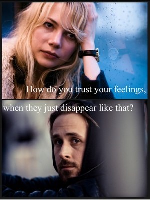 blue valentine and movie