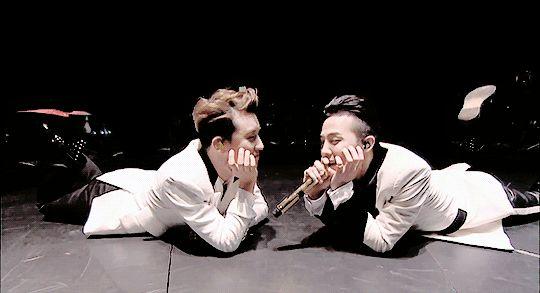 Seungri x G-Dragon / Gri / Nyongtory