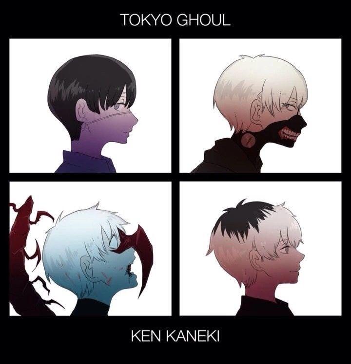 Tokyo Ghoul x Gorillaz' Demon Days