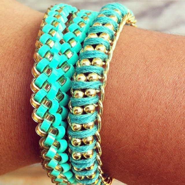 Homemade arm candy: Color