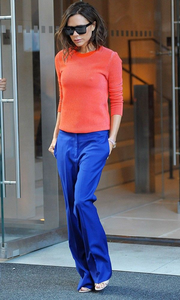 Victoria Beckham Is Not Wearing Any Black