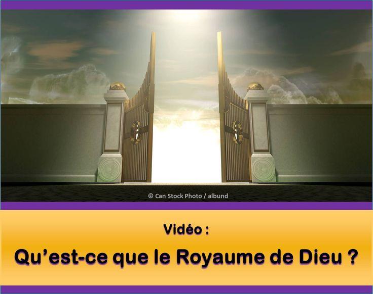 Qu'est-ce que le Royaume de Dieu ? Veuillez regarder la vidéo : https://www.jw.org/fr/publications/livres/de-bonnes-nouvelles-de-la-part-de-dieu/royaume-de-dieu/video-royaume-vienne/. Alors lisez cet article : https://www.jw.org/fr/publications/livres/de-bonnes-nouvelles-de-la-part-de-dieu/royaume-de-dieu/. (What is the Kingdom of God? Please watch the video. Then read the article.)