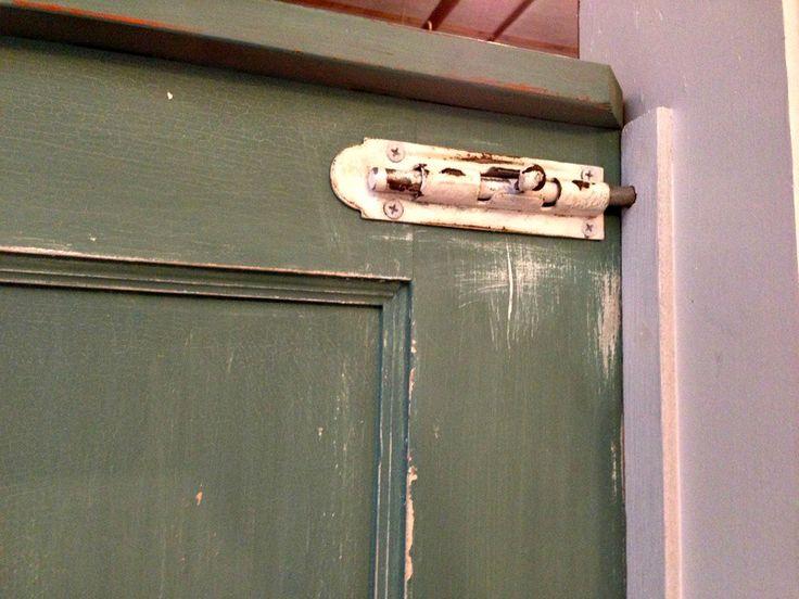 DIY Dutch Door Latch And Stop