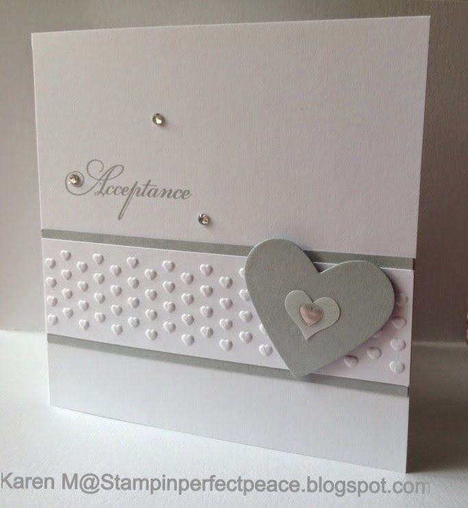 Card Making Ideas Wedding Part - 38: Wedding Acceptance Card