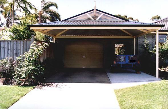 Carports Inspiration - Lysaght Living Collection - Australia | hipages.com.au