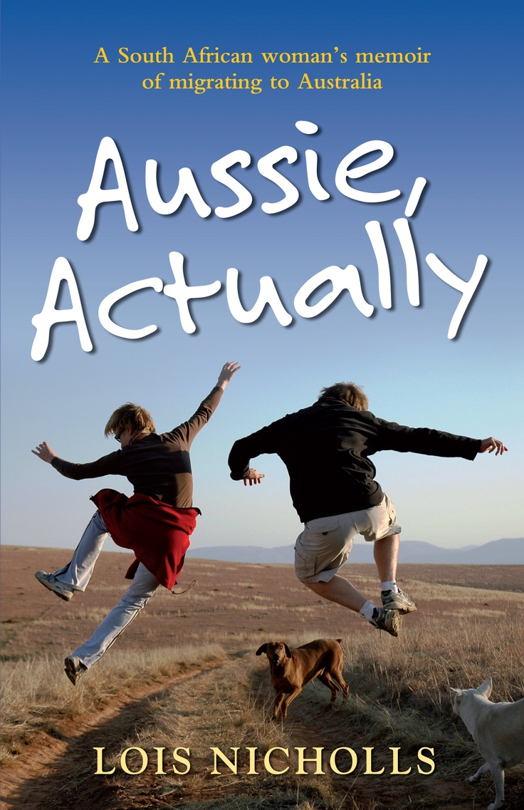 Talented book cover designer, Darian Causby, added a new  tag line to my book cover - 'A South African woman's memoir of migrating to Australia'