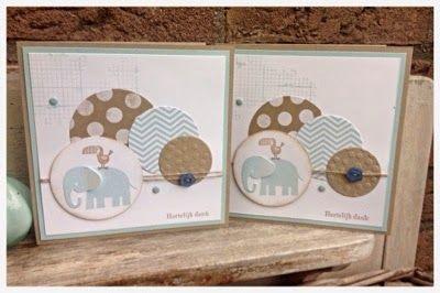 Stampin' Together!: Laatste Kans!! & Zoo Baby kaartjes