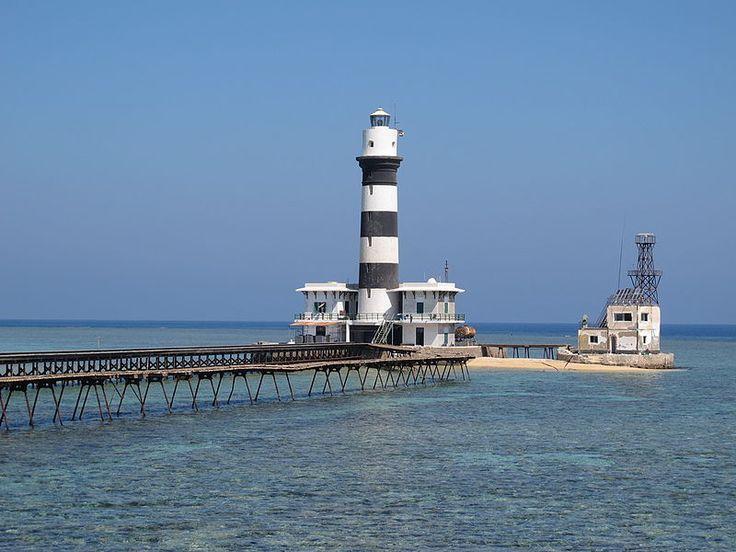 Daedalus Reef Lighthouse Egypt