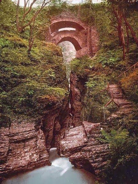 Beautiful Portals around the World !! - Devils Bridge, Wales.
