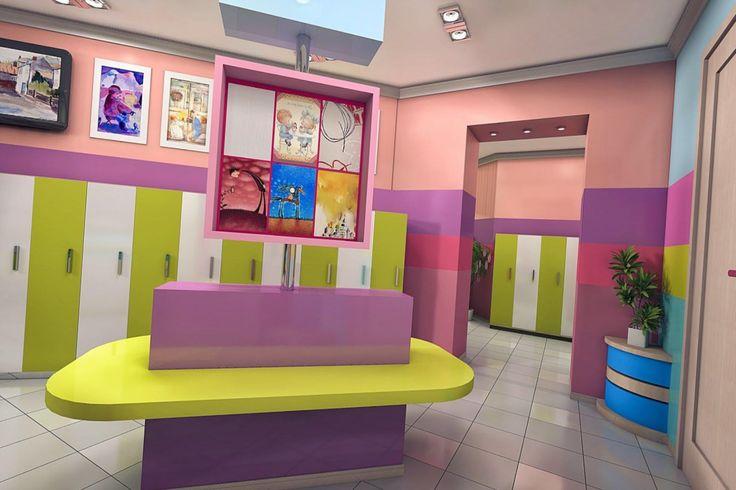 Львов, Харьков, Днепропетровск), а также дизайн детского сада и игровых комнат. Работы дизайнеров интерьера нашей студии это всегда оригинальный,