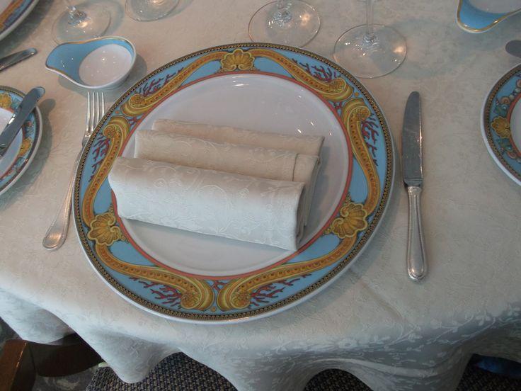 Oceania Cruises - Nautica, Dining plate worth $3,500