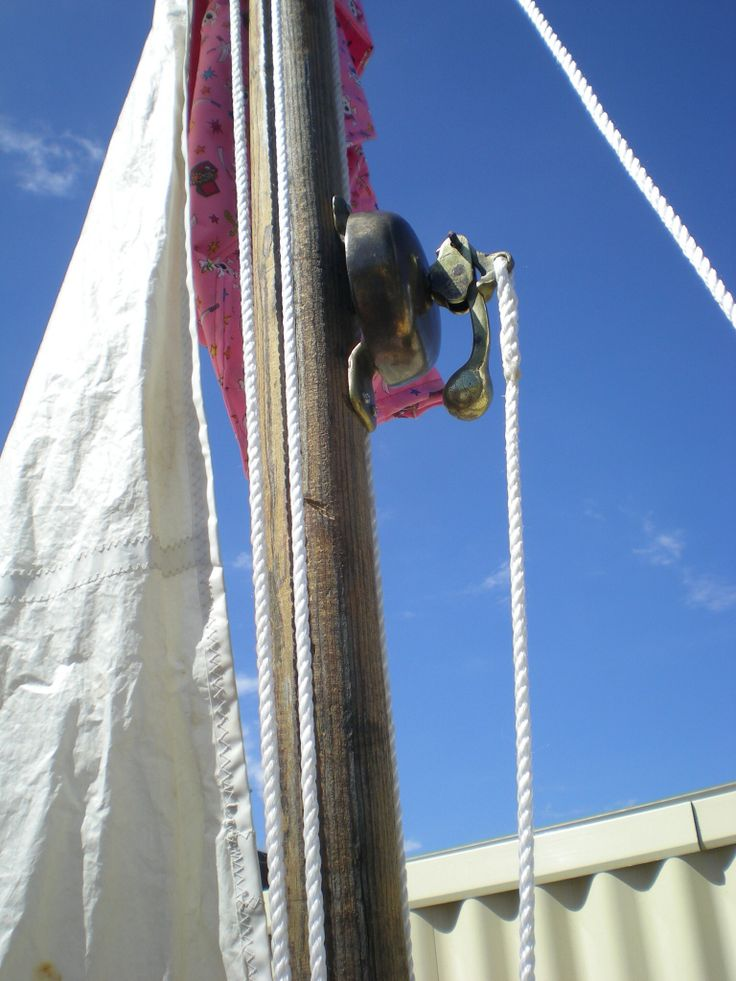 Old bell on the mast