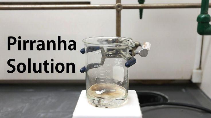 How to make Piranha Solution