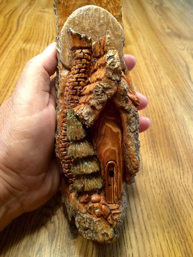 Best images about bark carvings on pinterest fairy