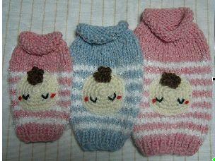 かんたん☆編みぐるみ風フードセーター