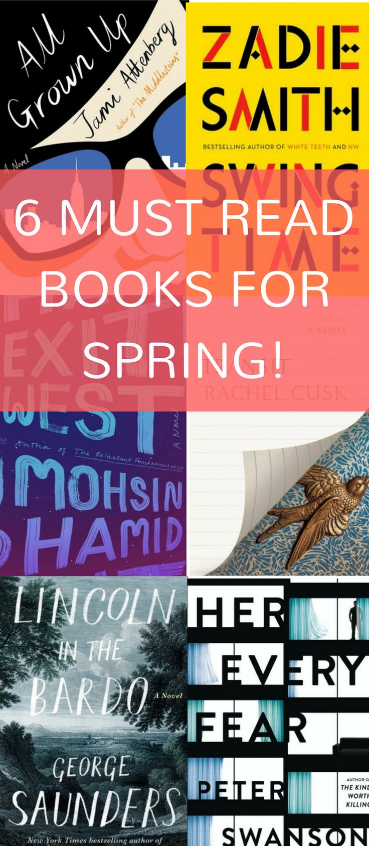 6 Great Books to Escape with on Spring Break