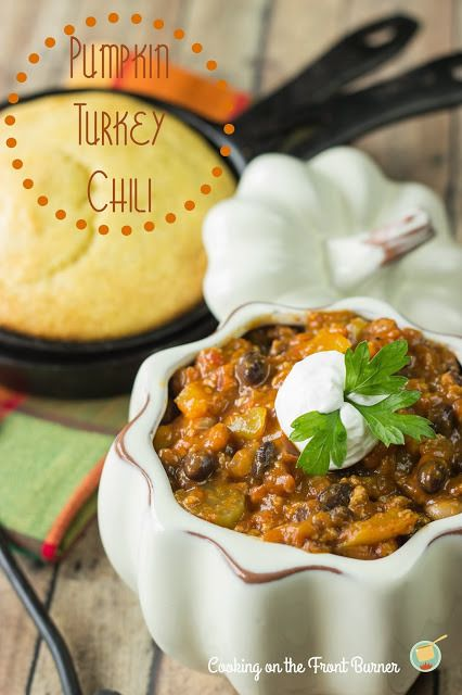 This rocked! Will make again: Pumpkin Chili by Cooking on the Front Burners