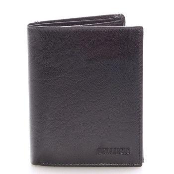 #Bellugio Pánská kožená peněženka černá - BELLUGIO Russ