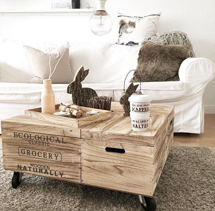 die besten 25 holzkiste mit deckel ideen auf pinterest ecken abdeckung dachterrasse pflanzen. Black Bedroom Furniture Sets. Home Design Ideas