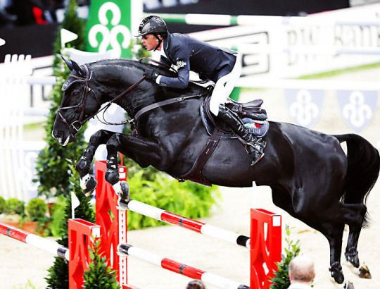 Ben Maher and TRIPPLE X, German Masters 2013