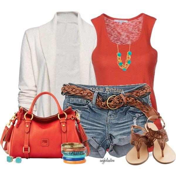 Summer Outfit: Summer Fashion, Woman Fashion, Casual Outfit, Fashion Ideas, Casual Summer, Summer Outfit, Fashionista Trends, Denim Shorts, Summer Clothing