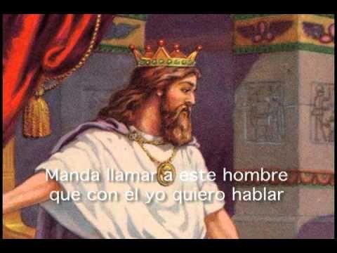 El Rey te mando a Llamar con LETRAS Danny Berrios - YouTube