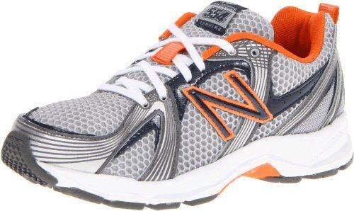 New Balance KJ554 Running Shoe (Infant/Toddler/Little Kid/Big Kid),Grey/Blue/Orange,5 W US Big Kid at http://suliaszone.com/new-balance-kj554-running-shoe-infanttoddlerlittle-kidbig-kidgreyblueorange5-w-us-big-kid/
