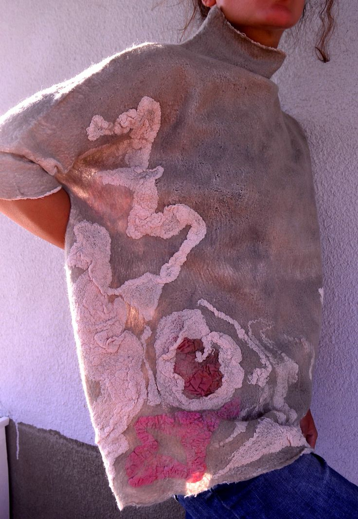 Ia Gulisashvili Hand Made/Textile Design/Nuno Felt