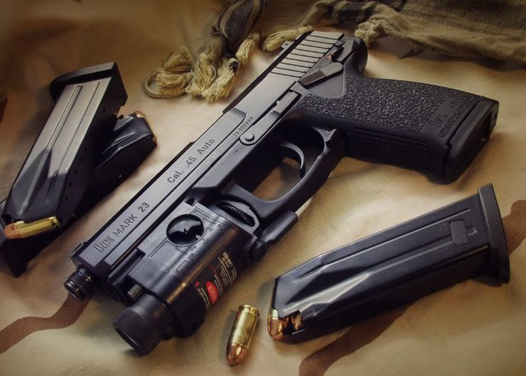 Heckler and Koch Civilian | Heckler & Koch MK23 - Taringa!