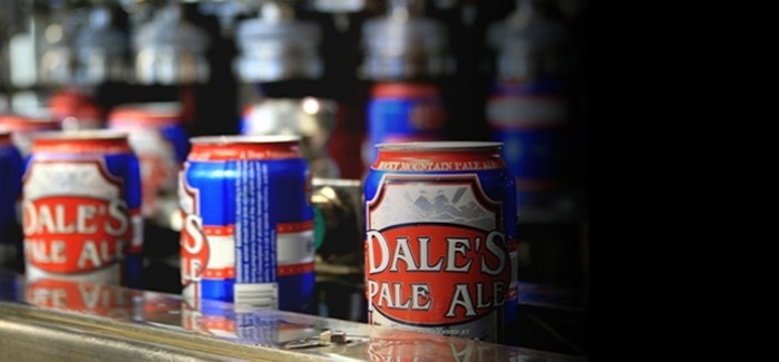 Oskar Blues Brewery in Lyons, Colorado. Look for Dale's Pale Ale, Deviant Dale's IPA, Mama's Little Yella Pils, Old Chub, and Gubna on tap and in cans.