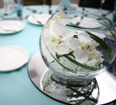 Beautiful Round Table Mirror Is Perfect To Use As Part Of Your Wedding Centerpiece Display