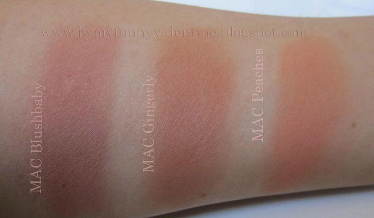 Get Mac Gingerly Blush first!