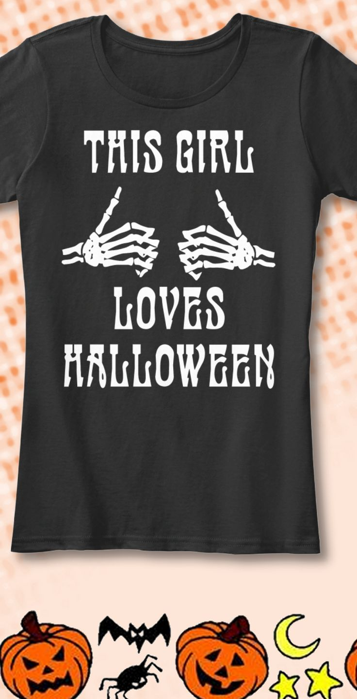 Do you love Halloween? Are you That Girl? New limited edition t-shirts…