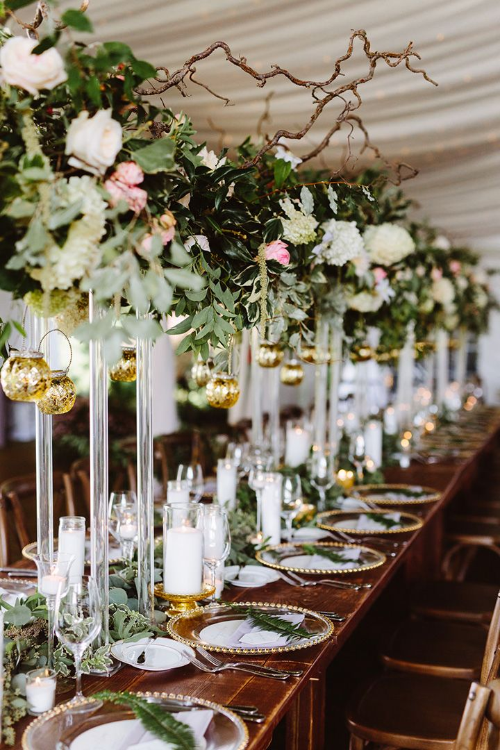 Elevated Head Table Florals u0026 A Wondrous