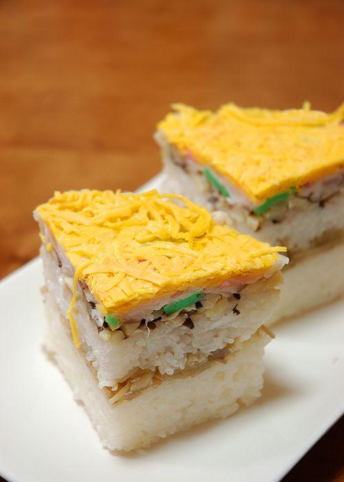 Kinshi Tamago (錦糸たまご), Japanese Omelette Ribbons Recipe for Sushi Decoration (Photo Tutorial)
