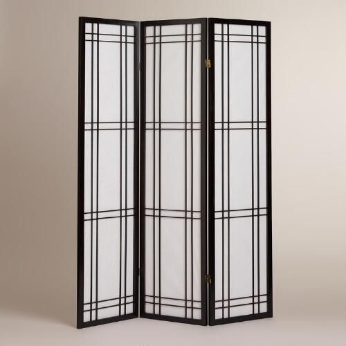 Our traditional Japanese Espresso Shinto Screen possesses a quiet composition as it allows for soft diffusion of light. An ideal room partition or accent piece, its classic design is as appealing in today's homes as it has been for centuries.