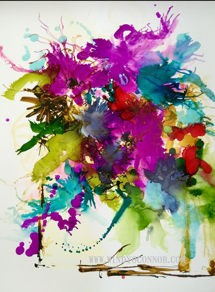Abstract by artist Windy O'Connor