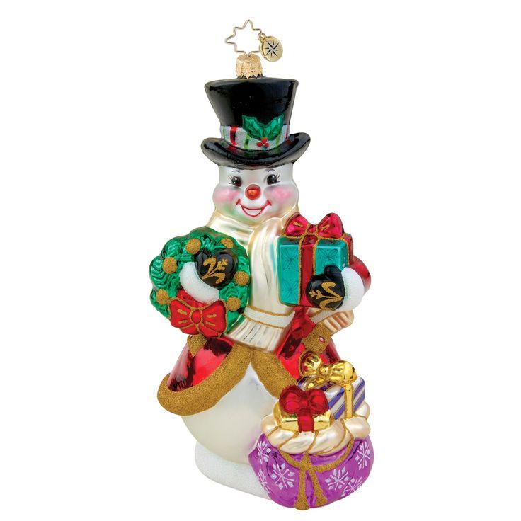 Image detail for -Christopher Radko Ornaments > Grand Entrance - Christopher Radko ...