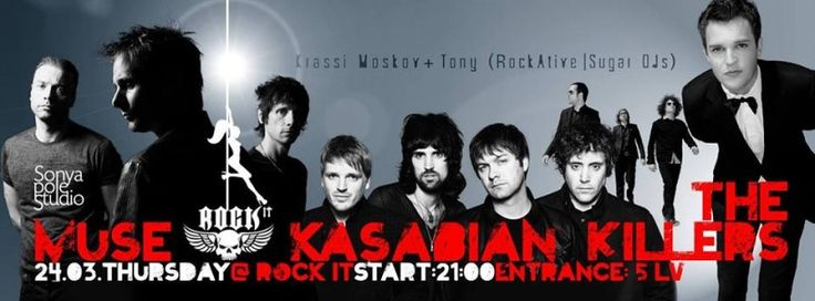 Muse, Kasabian & The Killers