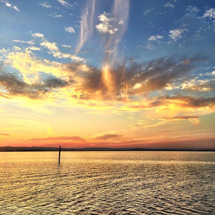 Sunset on Tuggerah Lakes NSW
