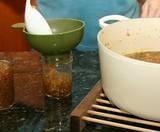 Preparing jars for canning