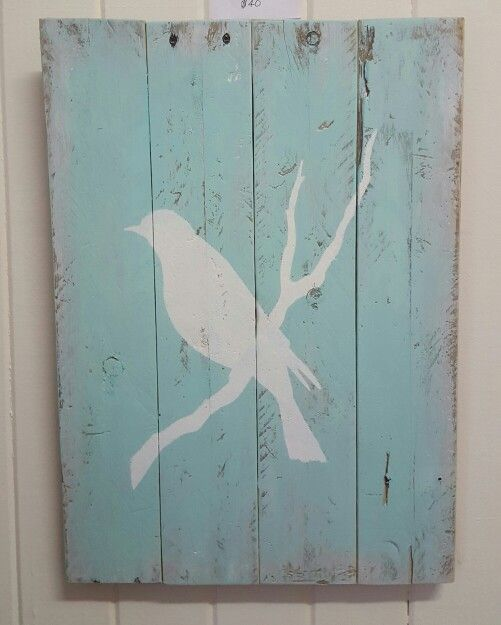 My recycled pallet board painting♡ The Cottage Hervey Bay Australia Through My Eyes