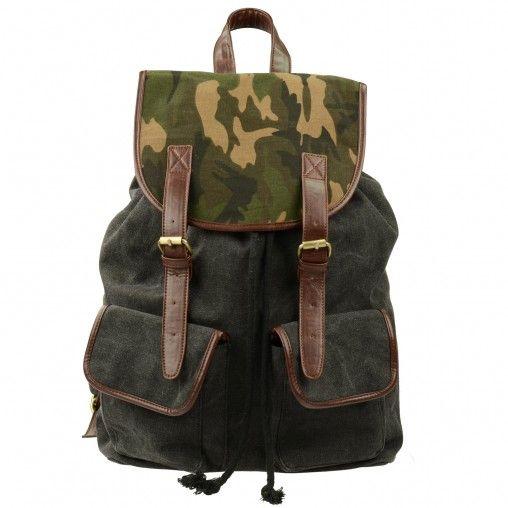 SACHA // Army Backpack € 39,95
