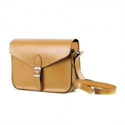 Vintage Candy Color and Buckle Design Women's Crossbody Bag